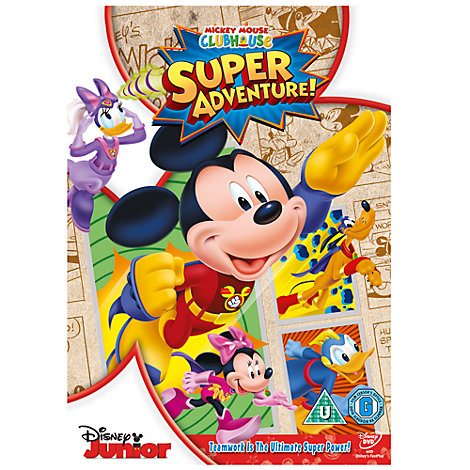 Mickey Mouse Clubhouse Super Adventure DVD