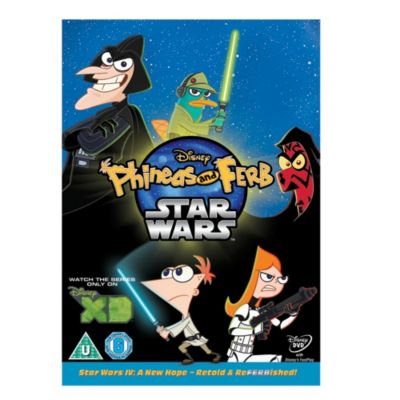 Phineas & Ferb - Star Wars DVD