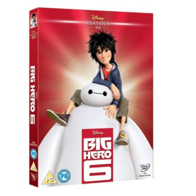 Big Hero 6 DVD