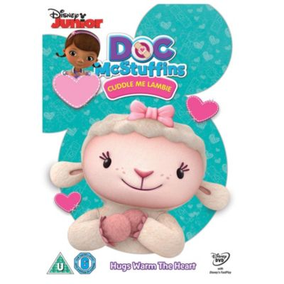 Doc Mcstuffin Cuddle Me Lambie DVD