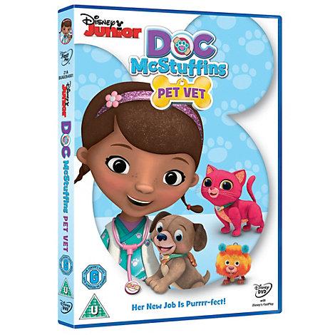 Doc Mcstuffins Pet Vet DVD