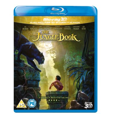 The Jungle Book - Live Action 3D Blu-ray