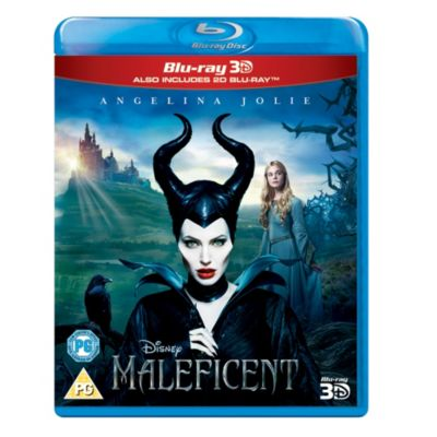 Maleficent 3D Blu-ray