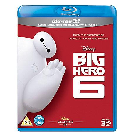 Big Hero 6 3D Blu-ray
