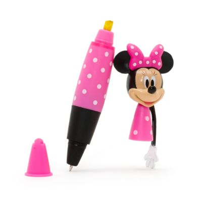 Minnie Mouse 2-In-1 Pen And Highlighter