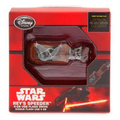 Star Wars: The Force Awakens Rey's Speeder USB Flash Drive, 4GB