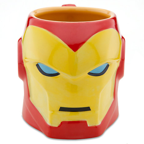 Taza tridimensional Iron Man, Marvel
