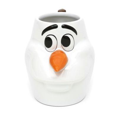 Mug Olaf en relief La Reine des Neiges