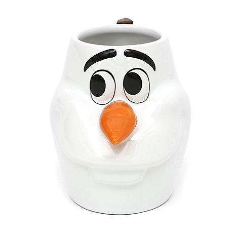 Tazza personaggio 3D Olaf di Frozen - Il Regno di Ghiaccio