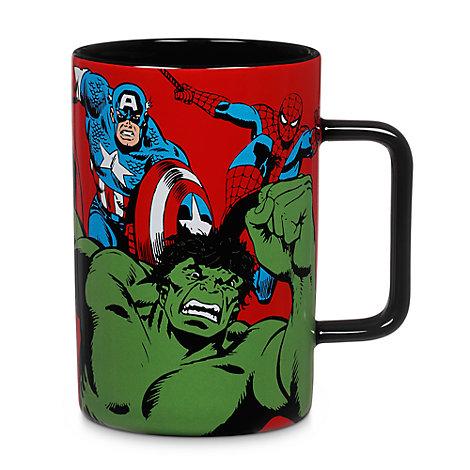 Marvel Comic Mug, Red