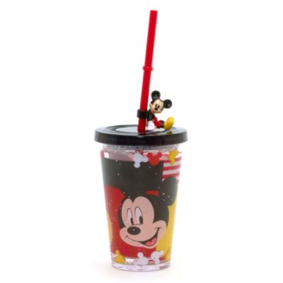 Mickey Mouse Waterfill Tumbler With Straw