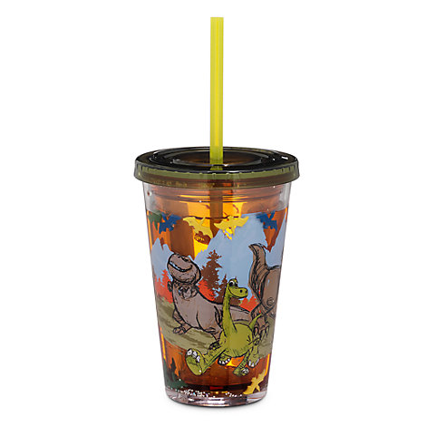 The Good Dinosaur Waterfill Tumbler With Straw