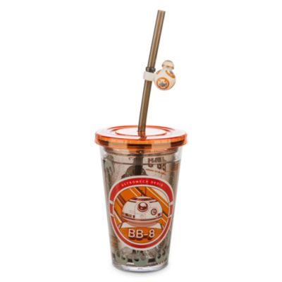 BB-8 Waterfill Tumbler With Straw, Star Wars: The Force Awakens