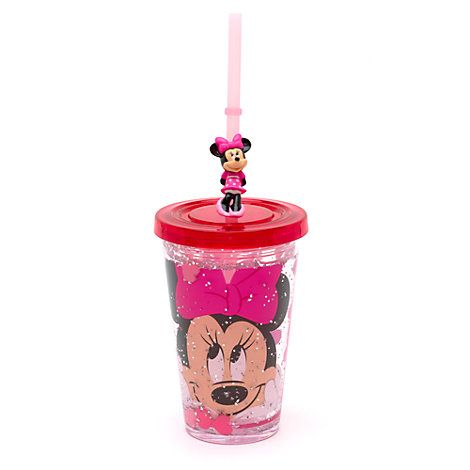 Minnie Mouse Waterfill Tumbler With Straw