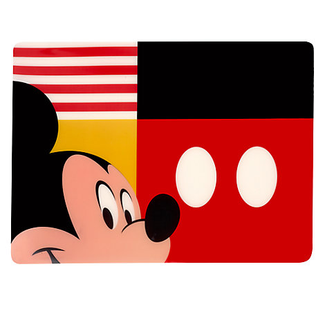 Mickey Mouse Peek-a-Boo Placemat