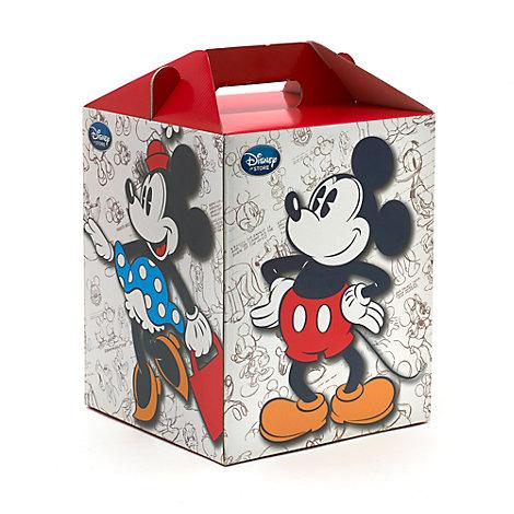 Boîte cadeau Mickey et Minnie, Peluche