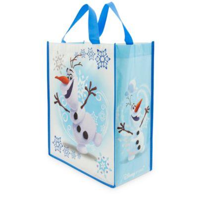 Sac de shopping réutilisable Olaf de La Reine des Neiges