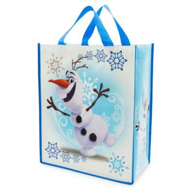 Borsa shopper riutilizzabile Olaf di Frozen - Il Regno di Ghiaccio