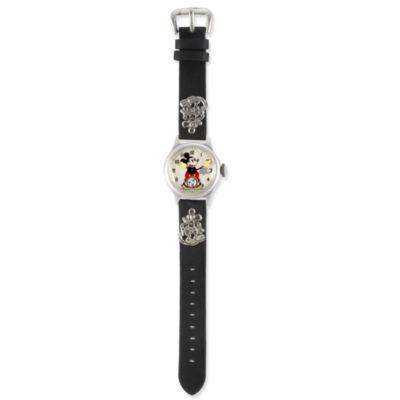 Ingersoll Mickey 30's Collection - Armbanduhr mit Lederarmband