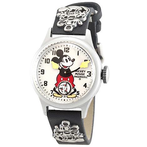 Montre bracelet en cuir Ingersoll Mickey Mouse 30's