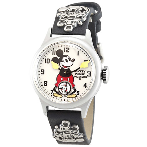 Ingersoll Mickey Mouse 30's Collection Leather Strap Watch