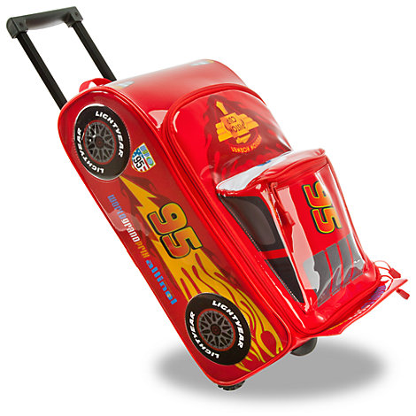 Cars Trolley Case With Sound