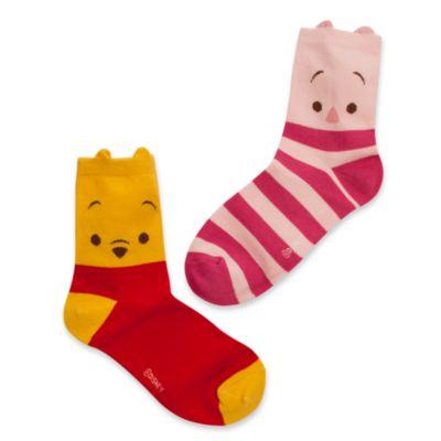 Winnie the Pooh and Piglet Ladies' Socks