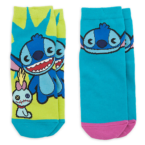 Stitch MXYZ Ladies' Socks, Pack of 2