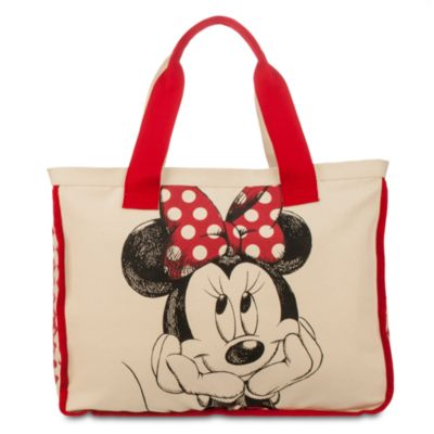 Minnie Mouse Canvas Tote