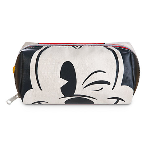 Mickey Mouse Face and Feet Cosmetic Bag
