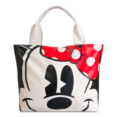 Minnie Mouse Face and Feet Tote Bag