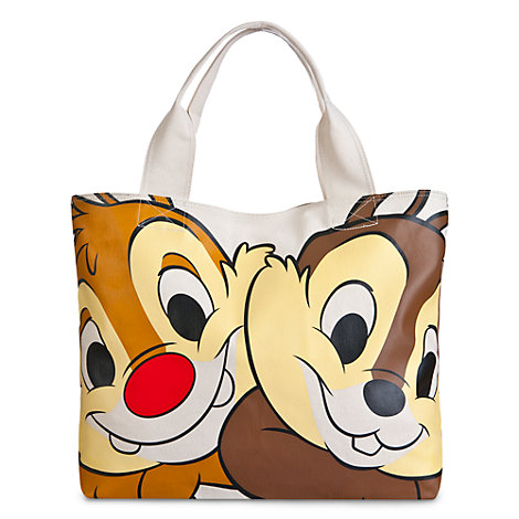 Chip 'n' Dale Face and Tail Tote Bag