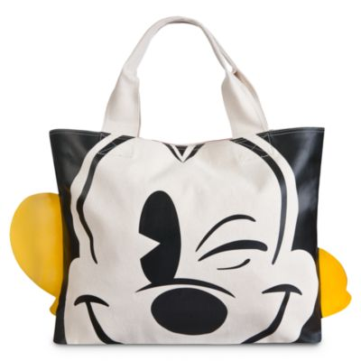 Mickey Mouse Face and Feet Tote Bag