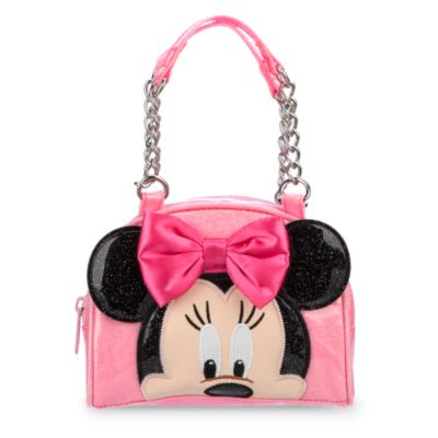 Minnie Mouse Glitter Handbag