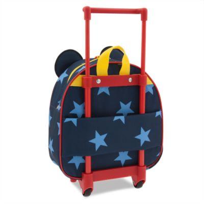 Maleta júnior con ruedas Mickey Mouse