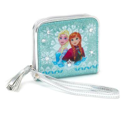 Portafoglio piccolo Frozen - Il Regno di Ghiaccio con cerniera