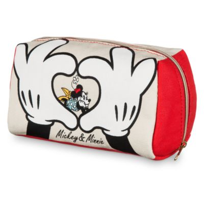 Neceser lona Minnie y Mickey Mouse