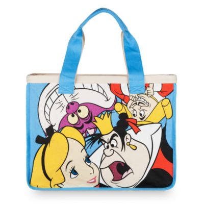 Alice and Friends Canvas Tote, Alice in Wonderland