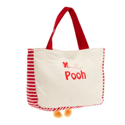 Winnie The Pooh Canvas Small Tote Bag