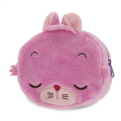 Cheshire Cat Plush Fabric Cosmetic Bag