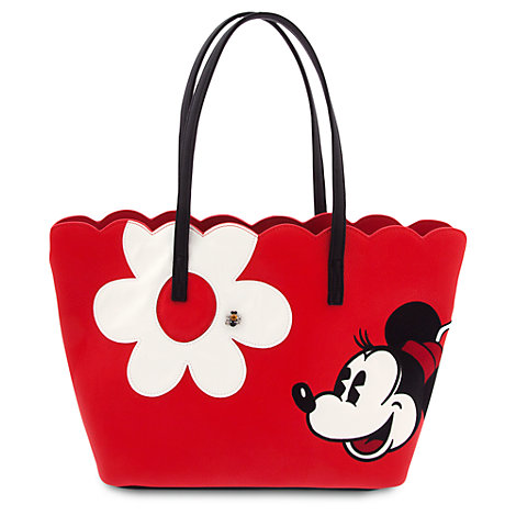 Minnie Mouse Flower Tote Bag