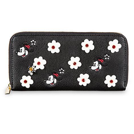 Minnie Mouse Zip Around Wallet