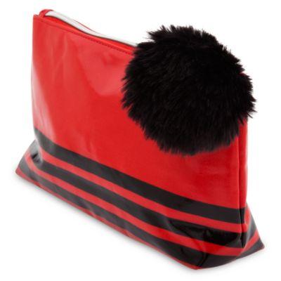 Mickey and Minnie Mouse Pom Pom Cosmetic Bag