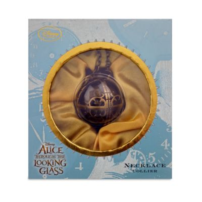 Alice Through The Looking Glass Time Pendant Necklace