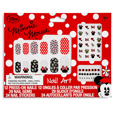Minnie Mouse Nail Art Set