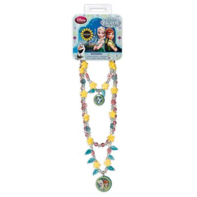 Frozen Fever Necklace and Bracelet Jewellery Set