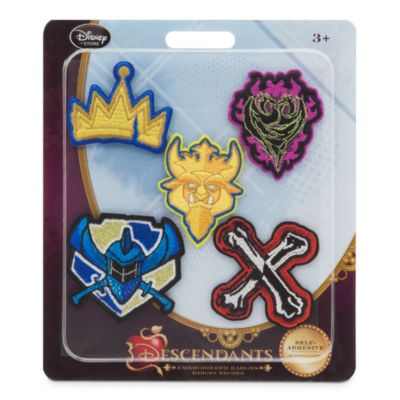 Disney Descendants Badges, Set of 5