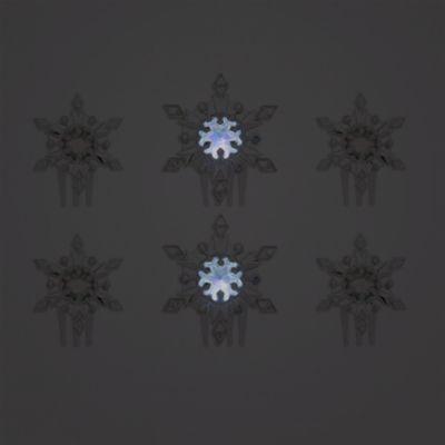 Peinetas Elsa con efectos luminosos