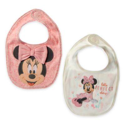 Bavaglino neonato corredino Minni, confezione da 2