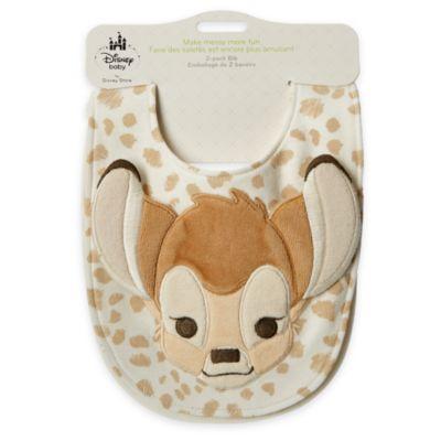 Bambi Layette Baby Bib, 2 Pack